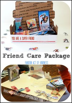 You Are A super Friend Care Package Random Act of Kindness on FSPDT