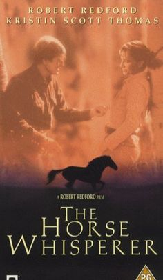 306 Days-Rom Films:Till Valentine's:...THE HORSE WHISPERER...is Lush, Majestic, Rich in Artistic Visuals but lacks the grand passion that pulls on heart strings. For a romantic drama, not good. 'LOVE STORY AD HURT HORSE' Subplot of fixing damage of accident carries more weight here. Redford should've stuck w/girl & horse. He & Scott Thomas. Great actors, but script isn't up to their talent. Scott Thomas in English Patient, now there's chemistry. QT: Truth is, I help horses with people problems.