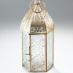 Antiqued Brass Moroccan Style lanterns: small and large sizes. | eBay