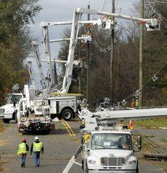 My grandson's utility crews were in Connecticut & then in Long Island. God bless Zach & the Texas crews Lineman Love, Power Lineman, Electrical Lineman, Journeyman Lineman, Transmission Line, Hurricane Sandy, Mad Max, Le Moulin, Media Design