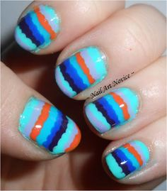 Nail Art Novice: OMD! Challenge Day 24-Inspired By A Tutorial