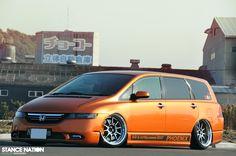Honda Odyssey, Street Racing, Kustom Kulture, Nsx, Valentino Rossi, Custom Vans, Japanese Cars, Station Wagon, My Ride