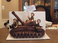 Coolest Army Tank Cake... Coolest Birthday Cake Ideas