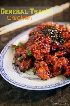 General Tsao's Chicken | Vondelicious!