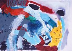 "Saatchi Art Artist Milena Vuckovic; Painting, ""Nasca IV"" #art"