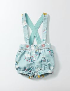 Cord Bloomers at Mini Boden- Baby Overalls, Baby Pants, Baby Girl Fashion, Kids Fashion, Baby Bloomers Pattern, Cute Baby Clothes, Kind Mode, Baby Wearing, Kids Wear