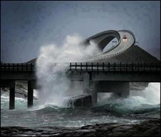 The Atlantic Road, Norway ..
