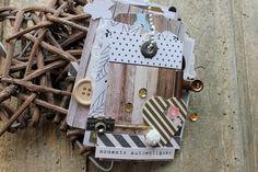 Mini album wood by KALI at @studio_calico