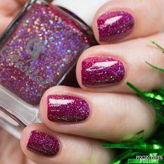 Celestial Cosmetics - SantaMental Collection Santa, Define Good? Treat Yourself, Pretty Nails, December, Nail Polish, Santa, Treats, Cosmetics, Celestial, Beauty