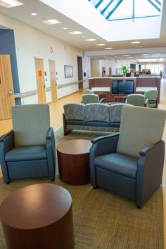 State Of Mind In Behavioral Healthcare Design Psychiatric Hospital, Mental Health Services, Hospital Design, Healthcare Design, Health Center, Psychiatry, Common Area, Skylight, Anxious