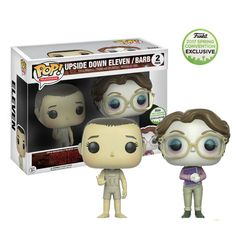 Stranger Things: Upside Down Eleven and Barb 2 Pack 2017 Convention Exclusive