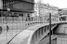 Monochrome : Paris - Forum des Halles par ici la sortie