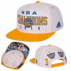 e355ebf383b07 Golden State Warriors adidas Trophy Ring Banner Snapback - White Warrior  Spirit