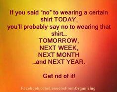 Get rid of it!