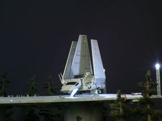 Endor Imperial Landing Port (with F-toys 1/350 Imperial Shuttle) by どろぼうひげ