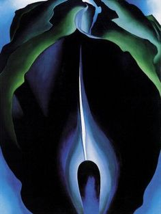 Shaping Nature's Forms Georgia O'Keeffe, Lake George Early Moonrise, oil on canvas, 1930 Nestled in the Adirondack Mountains of...