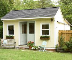 "I need this ""craft shed"" in my backyard."