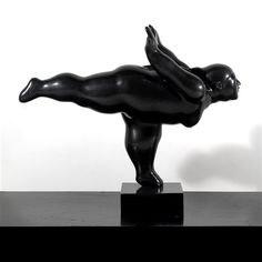 Ballerina gamba a squadra (2005), N° 2/6 by Fernando Botero✖️No Pin Limits✖️More Pins Like This One At FOSTERGINGER @ Pinterest✖️
