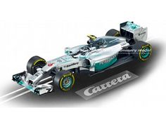 The Carrera 1/32 Mercedes-Benz F1 W05 Hybrid N.Rosberg, No.6, is a superbly…