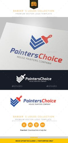 Painters Choice #vector #eps #painting #maintenance • Available here → https://graphicriver.net/item/painters-choice/11412178?ref=pxcr