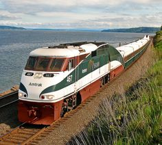 Lovely Amtrak train!  Road in/on one in the 70's from Montana to Minnesota!!