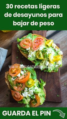 30 light breakfast recipes for weight loss - Food & Drinks - Recetas Dieta Heart Healthy Recipes, Healthy Breakfast Recipes, Healthy Snacks, Healthy Eating, Health Dinner, Health Breakfast, Eat Smarter, Nutritious Meals, Mexican Food Recipes