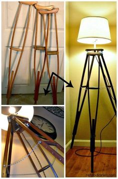 . . . . . How to Recycle: Recycling Old Crutches