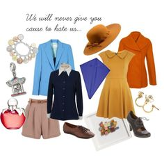 Mary Poppins Inspired Outfits - Jane & Michael Banks