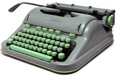"Hanks has also posted a Swiss-made Hermes 3000 as one of his ""typewriters of the week"""