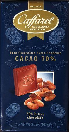 Caffarel Cacao 70% Bitterschokolade