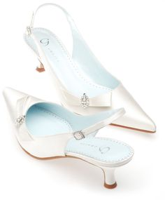 Ivory Grazia Sabrina Bridal Shoes http://www.bellissimabridalshoes.com/Ivory-Grazia-Sabrina-Bridal-Shoes-Prodview.html
