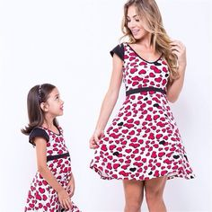 Vestido Love Mãe | Mãe & Filha | mariahflor