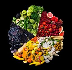 Fruits and veggies = yum