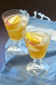 Spiked Ginger-Apple Juice