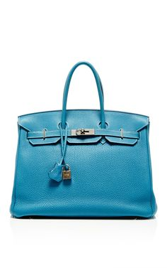 f9aee57841ea Hermes 35cm Blue Jean Clemence Leather Birkin by Heritage Auctions Special  Collection for Preorder on Moda