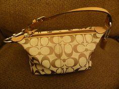 Coach Small Canvas Handbag  #Coach #TotesShoppers