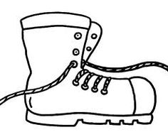 Sinterklaas Kleurplaat Valerie Een Sportieve Schoen Comfortabele Schoen Met Veters