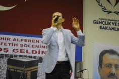 Eskişehir Alperen Ocakları Mekkenin Fethi Programı. Yusuf Karaburç İletişim.  Detaylar... http://www.isabetorganizasyon.net/sanatcilar/99/yusuf-karaburc.html