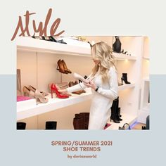 Spring/summer 2021 shoe trends Ankle Straps, Ankle Strap Sandals, Strappy Sandals, Strap Heels, Fashion Themes, Big Fashion, Spring Fashion, Trekking Sandals, Chunky Loafers