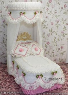 DOLLHOUSE TESTER BEDS by Ruthellen