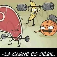 La Carne es Debil http://www.grafichistes.com/graficos/la-carne-es-debil/ - #Chistes #Humor http://www.grafichistes.com