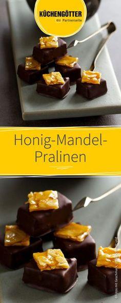 Selbstgemacht schmeckt es doch immer noch am besten! Diese hausgemachten Honig-Mandel-Pralinen sind schnell und einfach zubereitet und schmecken einfach köstlich! Das ideale Geschenk für Freunde und Familie.