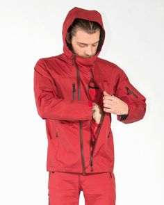 3 Layer Rain Jacket