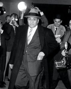 Tony Accardo Photo 8X10 - 1959 Mobster Mafia Chicago Outfit Buy Any 2 Get 1 Free - $3.95