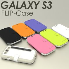 NEW [TRIDEA] FLIP slim credit cards case cover for galaxy S 3 III Samsung i9300
