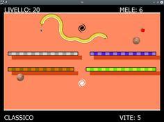 T8 Snake è il gioco classico rivoluzionato e portato dal C64 al PC (e presto  Android) T8 Snake è il porting del gioco P0 Snake dal Commodore 64 al Pc, estendendolo dagli originale 31 livelli (riprodotti fedelmente) a 64. P0 snake ha rivoluzionato il concetto di gioco del serpente che cresce mangiando le mele perchè viene controllato da un singolo tasto.  Questo sembra impossibile, ma invece è alla base del successo: cambia completamente l'esperienza di gioco e apre un nu Presto, Pc Games, Success, Letters, Android, Letter, Lettering, Calligraphy