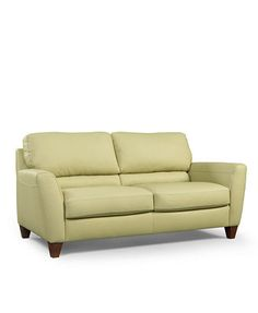 Almafi Leather Sofa
