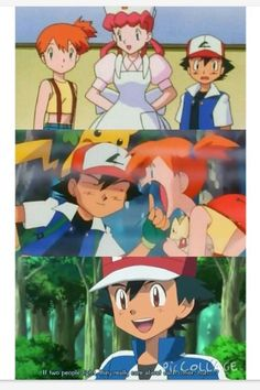 Aww! Ash is basically talking about him and misty. Pokeshipping in x and y! (Well kind of)