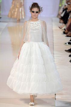 La robe coquelicot d'Alexander McQueen
