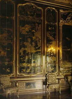 Schonbrunn Palace, Vienna Some sort of drawing room or sitting/morning room